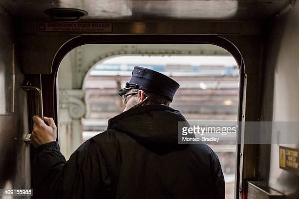 Conductor on Departure