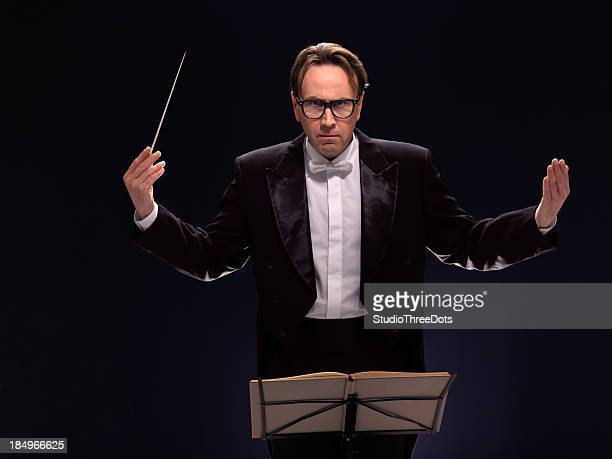 conductor - maestro stock photos and pictures