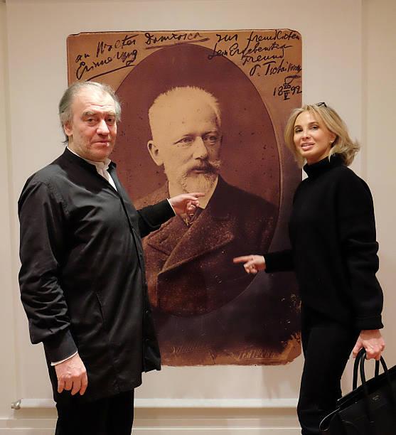 Corinna zu Sayn-Wittgenstein Attends Conductor Valery
