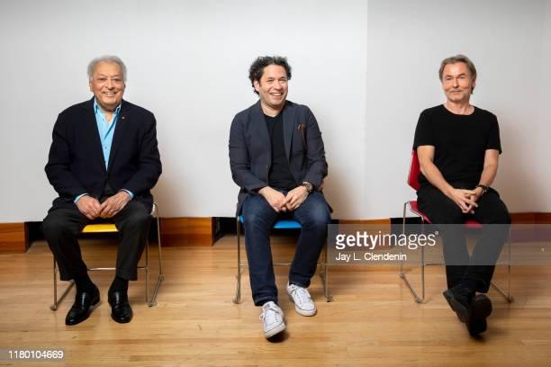 CA: Gustavo Dudamel, Zubin Mehta and Esa-Pekka Salonen, Los Angeles Times, October 24, 2019