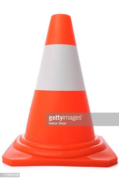 cone - traffic cone stock pictures, royalty-free photos & images