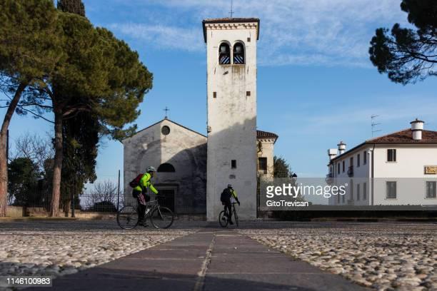 ヴェネツィア-古代教会 sant'orsola - トレヴィーゾ市 ストックフォトと画像