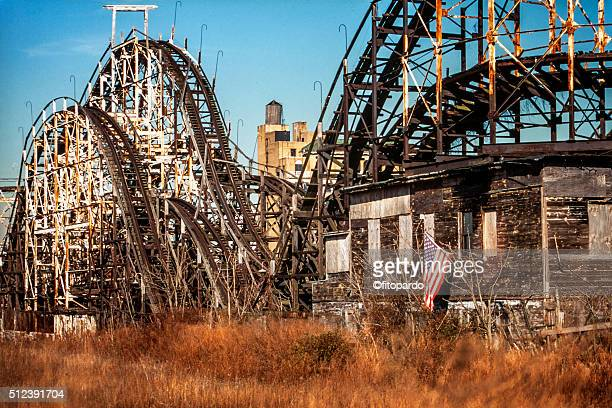 coney island fair - rotten com stock photos and pictures