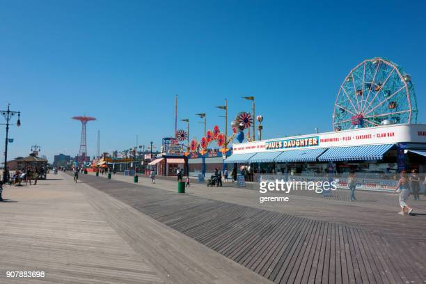 coney island - coney island stock pictures, royalty-free photos & images