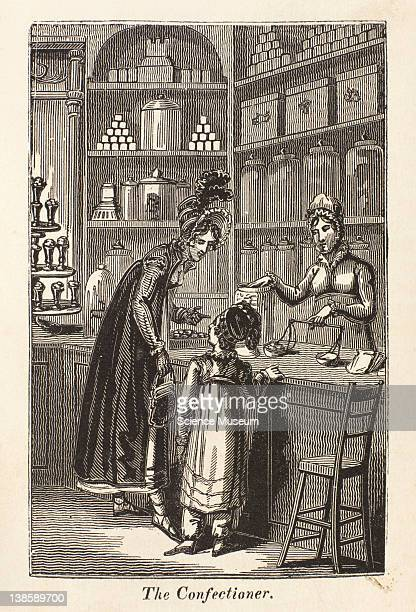 Confectioner is one who makes sweetmeats preserves of various kinds jellies jams gingerbread and is generally combined with the Pastrycook who makes...