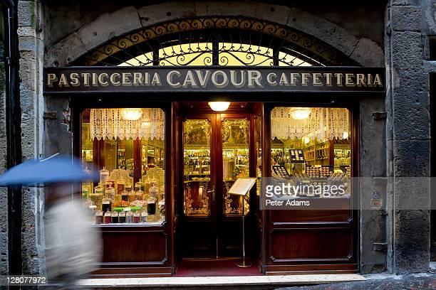 Confectioner's Shop, Bergamo, Lombardy, Italy