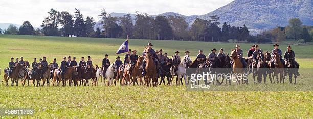 Confederate Cavalry in the Shenandoah Valley, Virginia