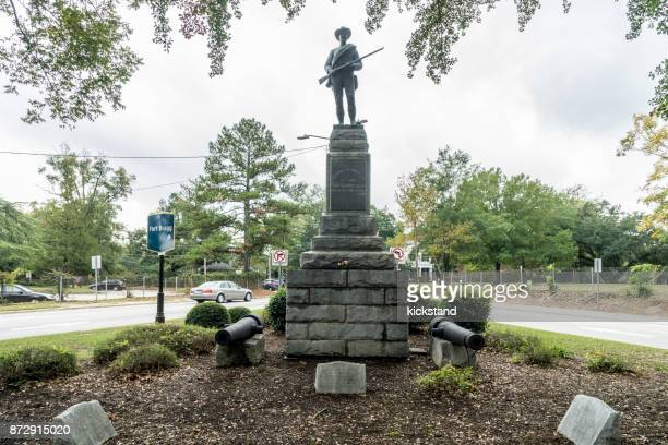 confederate civil war memorial, fayetteville, north carolina - fayetteville north carolina stock pictures, royalty-free photos & images