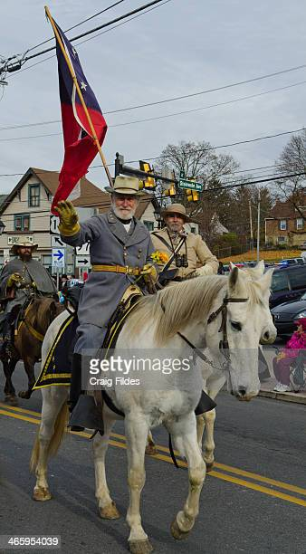 CONTENT] Confederate Civil War reenactor in the Remembrance Day Parade in Gettysburg celebrating the 150th Anniversary of the Gettysburg Address