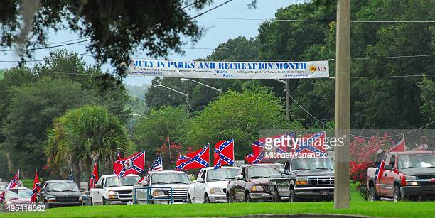 Confederate Flag Parade