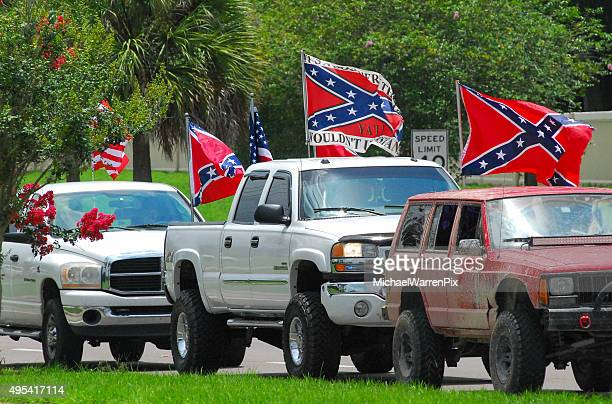 Confederate Flags and Pickup Trucks