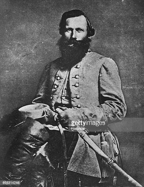 """Confederate General James """"Jeb"""" Stuart fought at the Battle of Bull Run and the Battle of Fredericksburg ."""