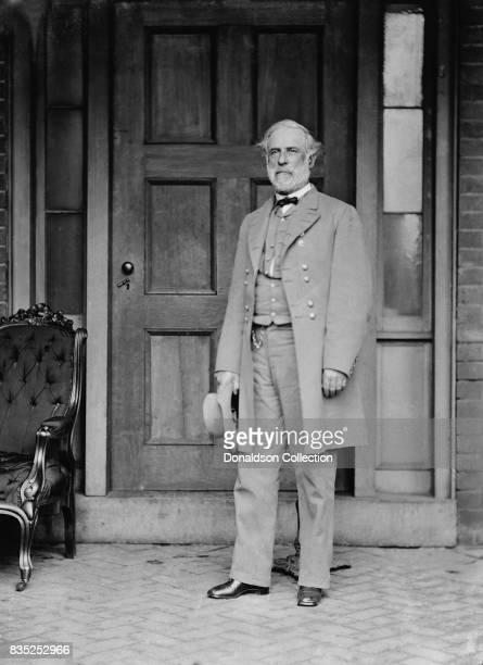 Confederate general Robert E Lee poses for a portrait in circa 1863