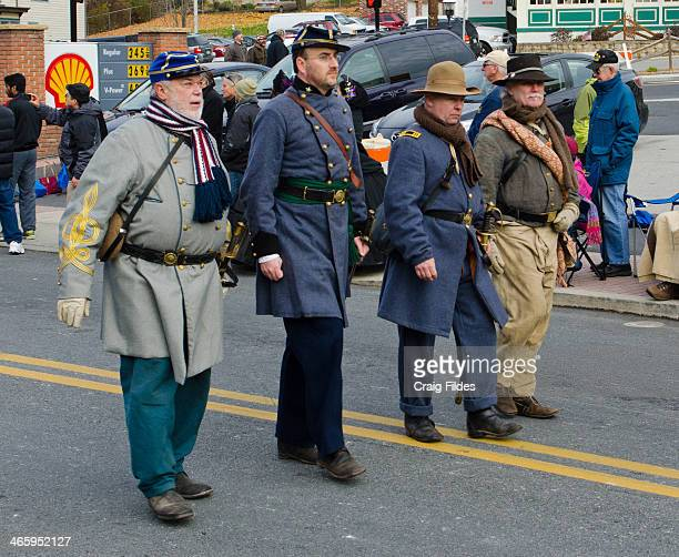 CONTENT] Confederate reenactors in the Remembrance Day Parade in Gettysburg celebrating the 150th Anniversary of the Gettysburg Address