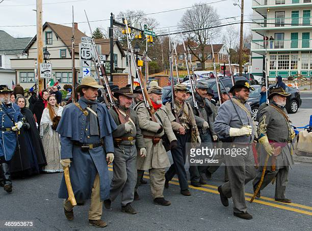 CONTENT] Confederate reenactors in the Remembrance Day Parade in Gettysburg celebrating 150th Anniversary of the Gettysburg Address