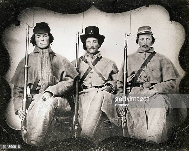 Confederate Soldiers of the Third Georgia Infantry two were halfbrothers and killed in battle of Malvern Hill