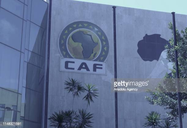 Confederation of African Football building is seen in Cairo, Egypt on June 06, 2019. It is reported that, President of the Confederation of African...