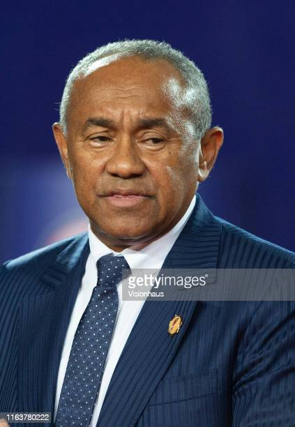 Confederation of African Football - CAF - President Ahmad Ahmad during the 2019 Africa Cup of Nations Final between Senegal and Algeria at at the...