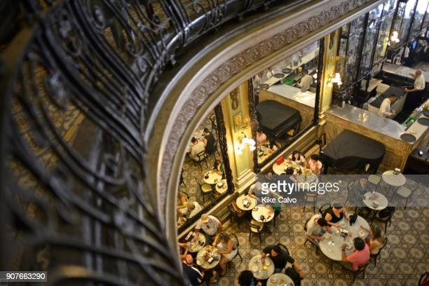 Confeitaria Colombo Rio's world famous historical cafe and bakery located in the Centro neighborhood The top floor is the Cristova Restaurant