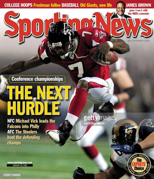 Conference Championships - The Next Hurdle - Michael Vick leads the Falcons to Philly