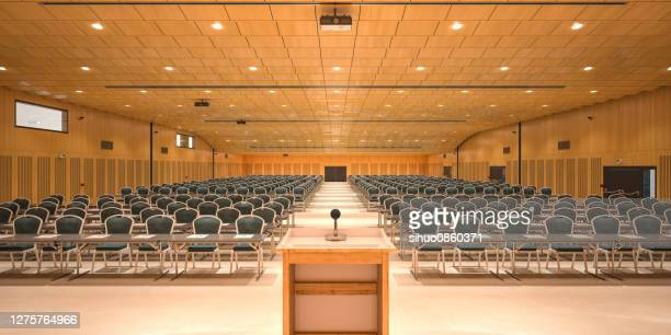 conference hall - conference centre stock pictures, royalty-free photos & images