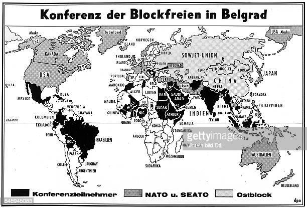 Conference of NonAligned Nations 1961 in Belgrade Meeting of the heads of state or government at the Conference of NonAligned Nations in Belgrade|...