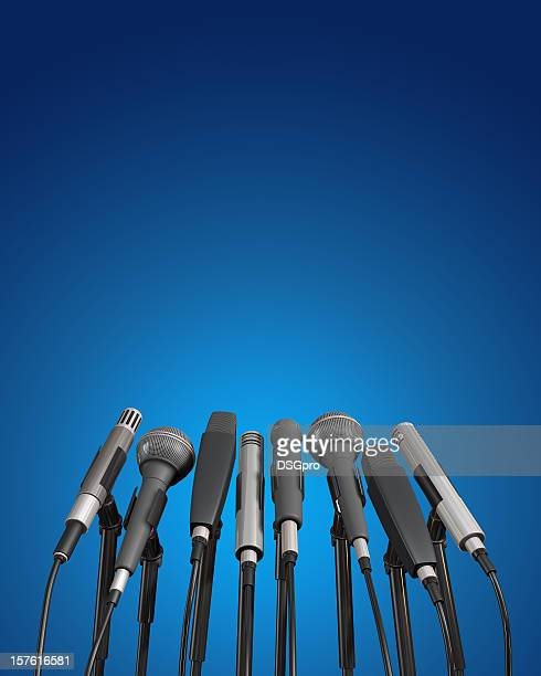 conference - press conference stock pictures, royalty-free photos & images