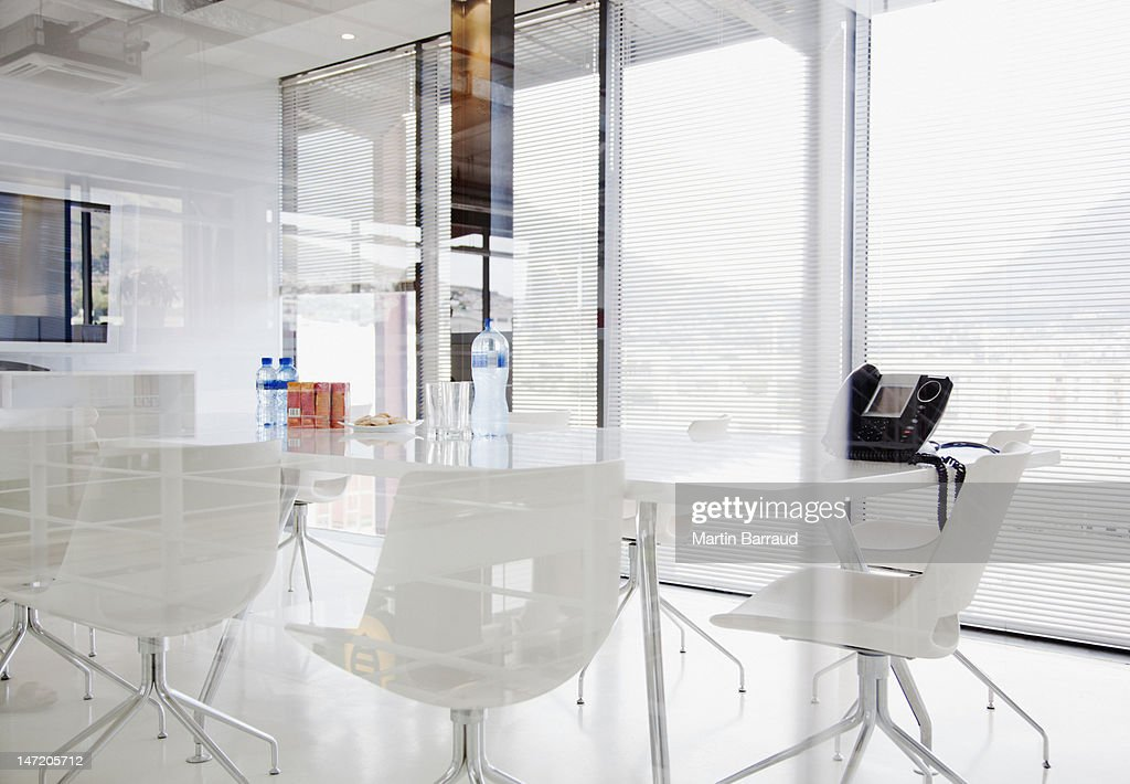 Conference room in modern office : Stock Photo