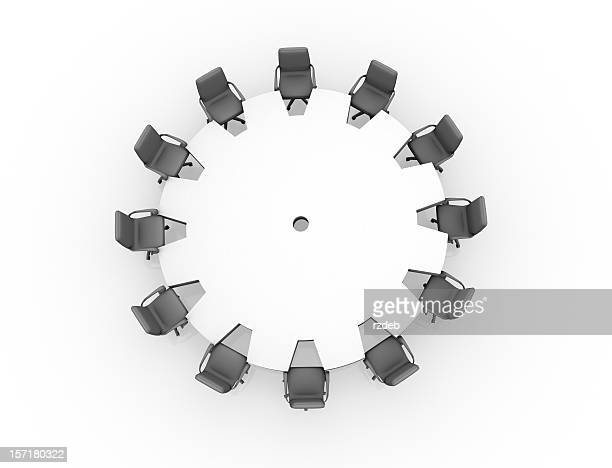 conference table - concept gear - talking politics stock pictures, royalty-free photos & images
