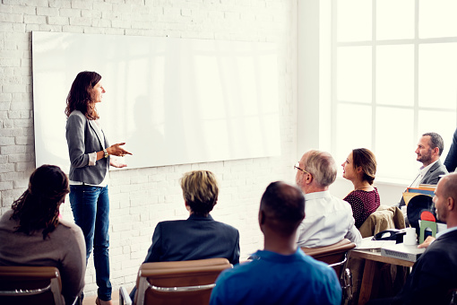 Conference Training Planning Learning Coaching Business Concept 508210504