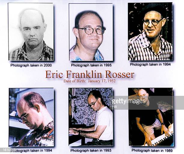 Confessed pedophile Eric Franklin Rosser is seen in six undated photos released by the Federal Bureau of Investigation Rosser who was once John...
