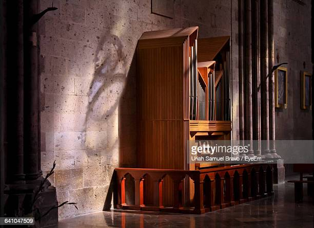 Confession Booth In Church