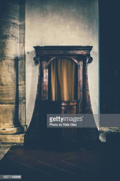 confessional - confession law stock pictures, royalty-free photos & images