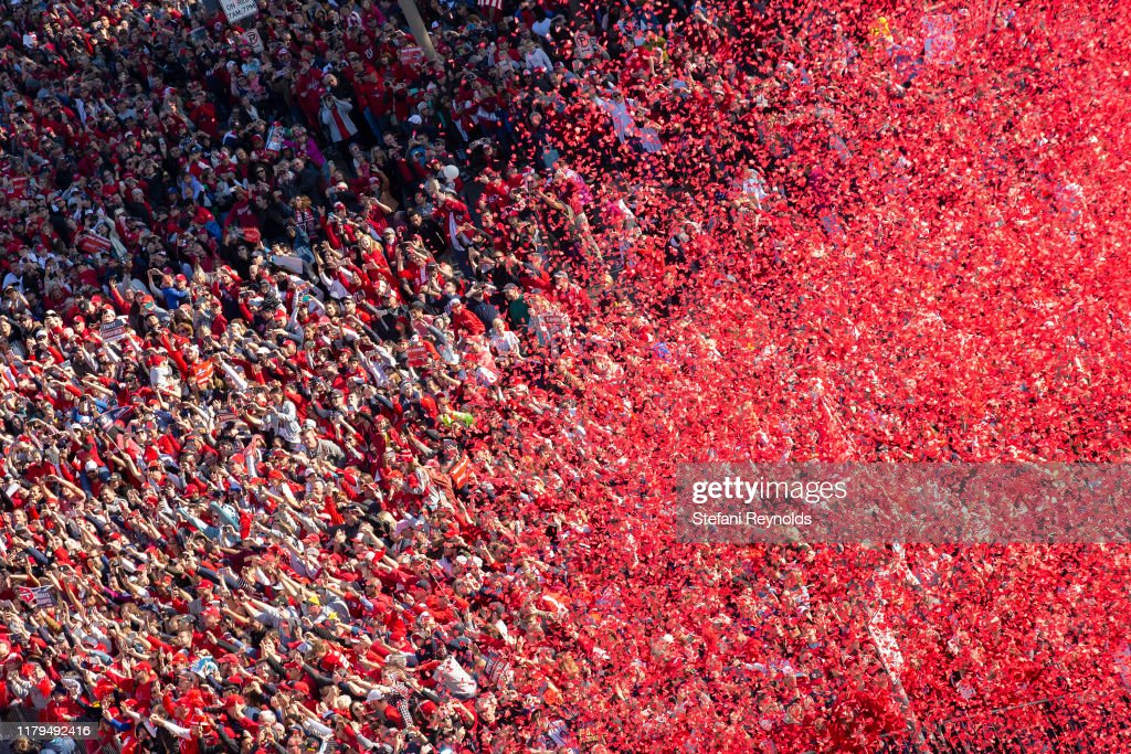 Washington Nationals Victory Parade : News Photo