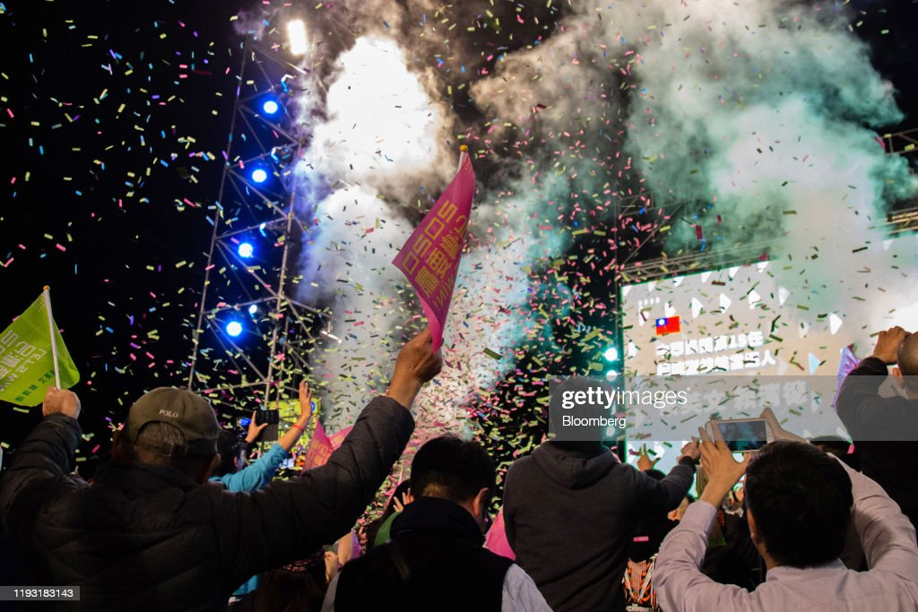 Taiwan Heads to Polls In Presidential And Legislative Election : ニュース写真