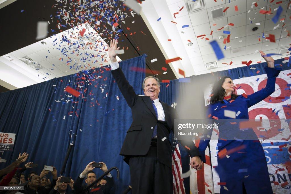Alabama Democratic Senate Candidate Doug Jones Holds Election Night Party
