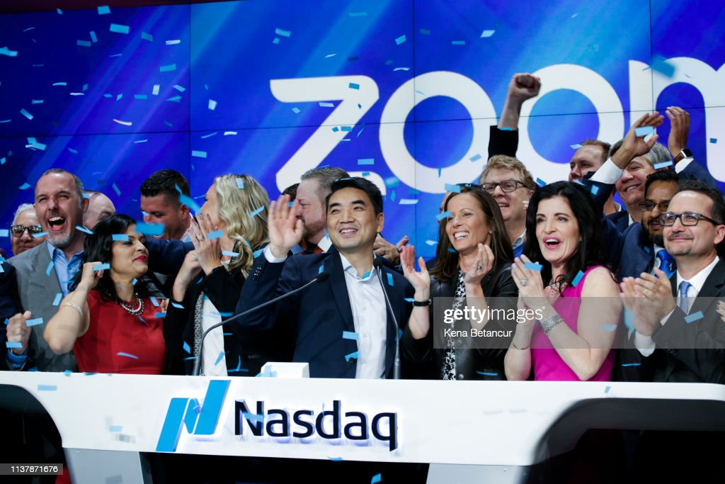 NY: Video Conferencing Software Zoom Goes Public On Nasdaq Exchange