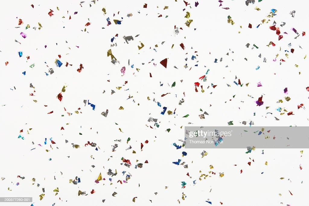 Confetti, full frame : Stock Photo