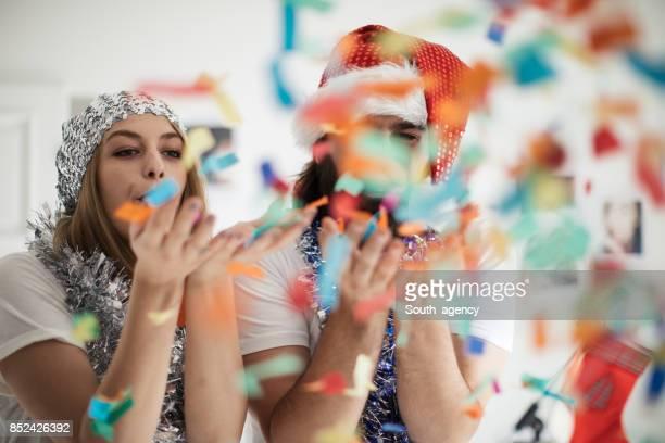 Confetti plezier