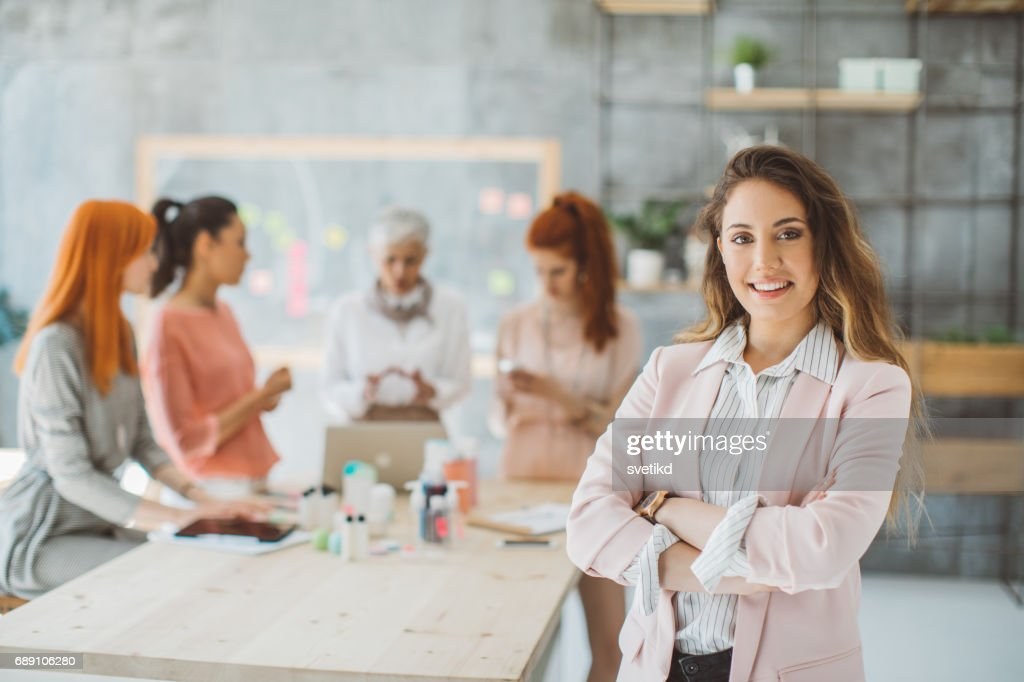 Confidence is the key to success : Stock Photo