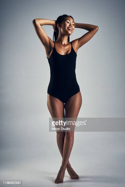 confidence shows - bodysuit stock pictures, royalty-free photos & images
