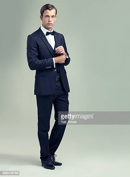 confident and classic - bow tie stock pictures, royalty-free photos & images