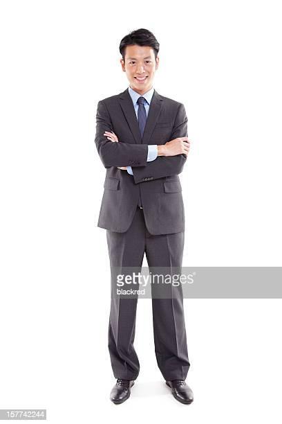 Confident Asian Businessman
