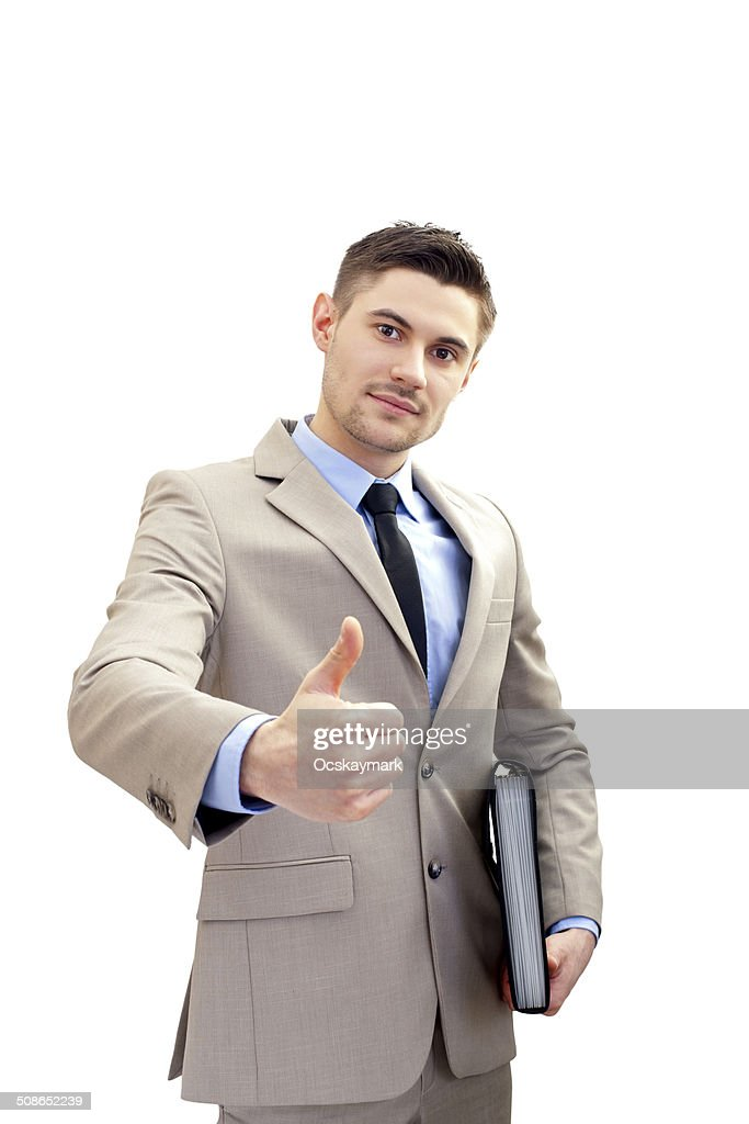 Confident businessman : Stock Photo