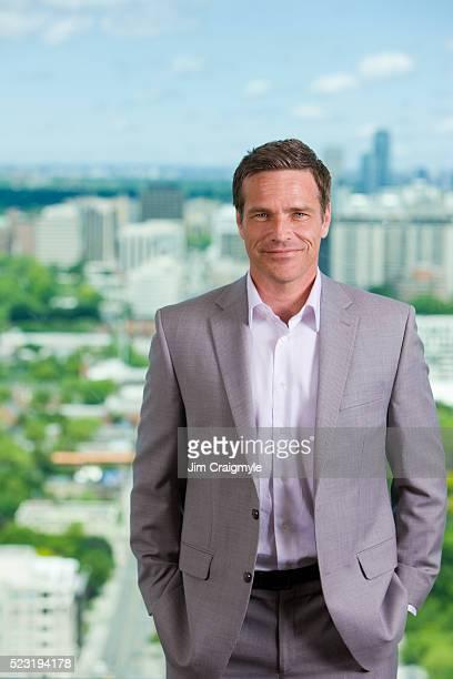 confident businessman - jim craigmyle stock pictures, royalty-free photos & images
