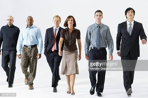 confident businesspeople - approaching stock pictures, royalty-free photos & images