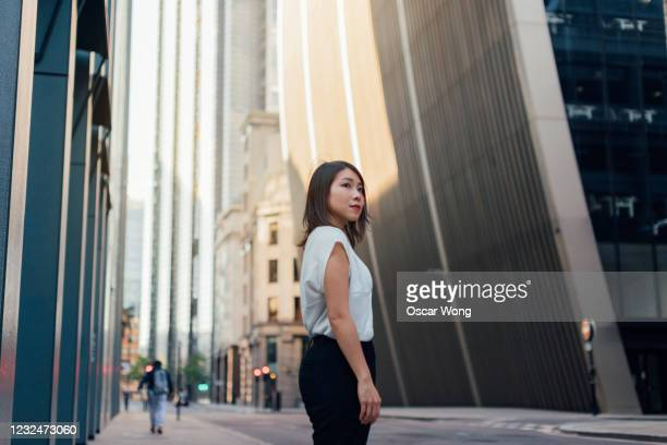 confident businesswoman making a career plan - winning stock pictures, royalty-free photos & images