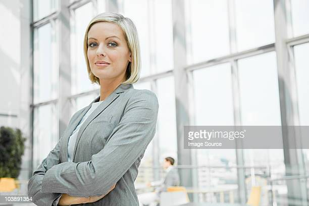 confident businesswoman - gray suit stock pictures, royalty-free photos & images