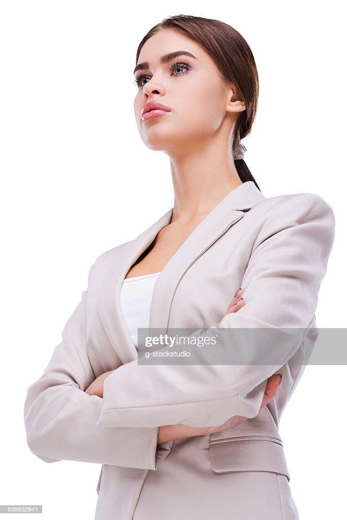 Confident businesswoman. : Stock Photo