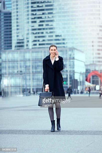 Confiant Femme d'affaires